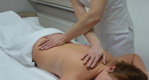 Massage Rücken mit Nacken